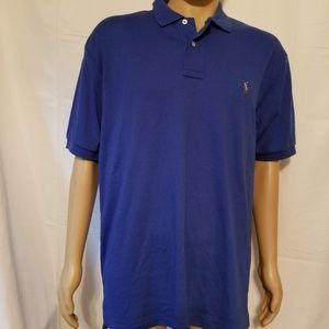 Polo ralph Lauren Blue polo Shirt Large mens